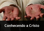 Mãos furadas e a inscrição - Conhecendo a Cristo
