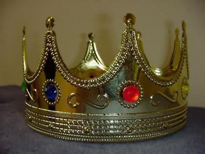 Coroa dourada